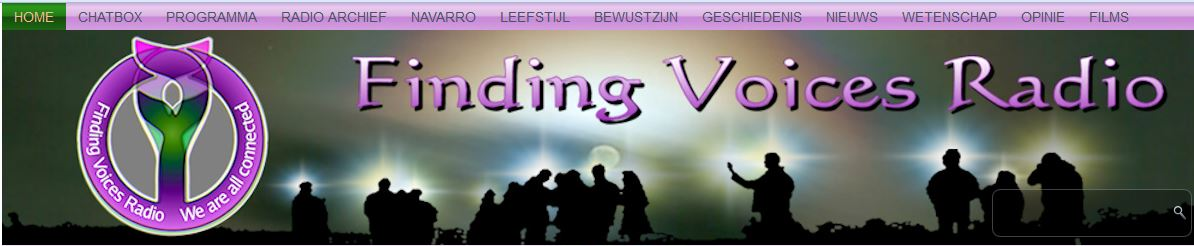 Finding Voices Radio Banner