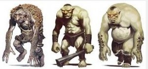 Three trolls