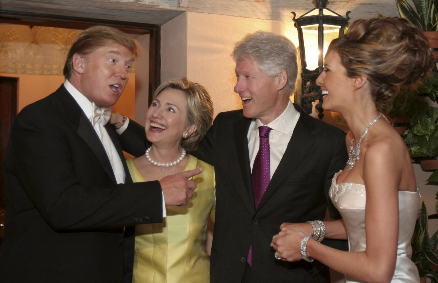 TrumpClintonsBuddies