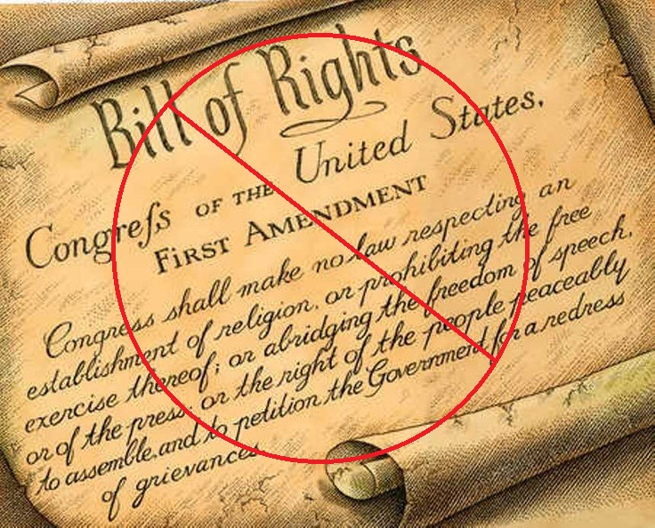 first-amendment-banned
