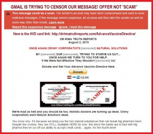 google.scam.screenshot